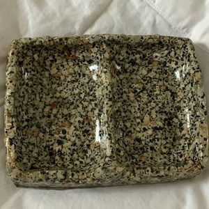 Other - Snowflake Obsidian Soap Dish